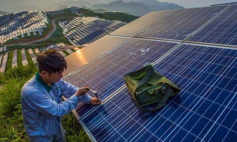 Demanda mundial de placas fotovoltaicas